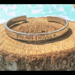 🆕 You are Enough Cuff Bracelet